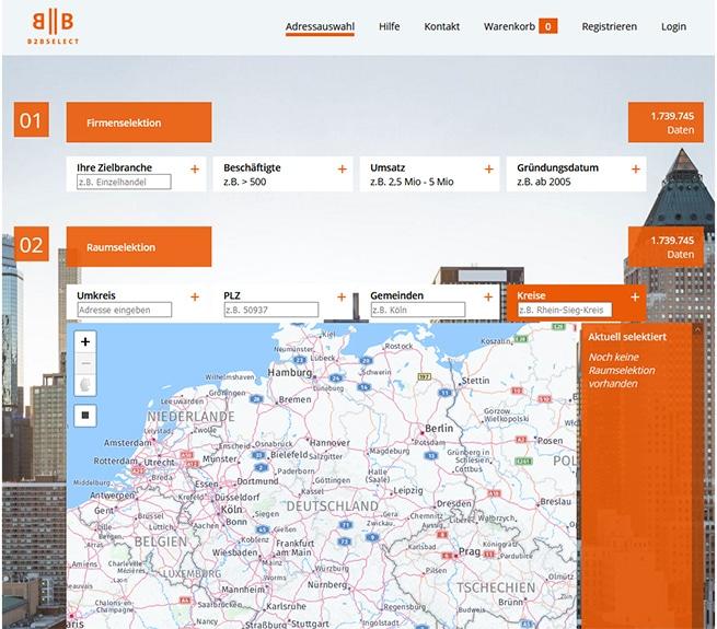Portal b2bselect.de