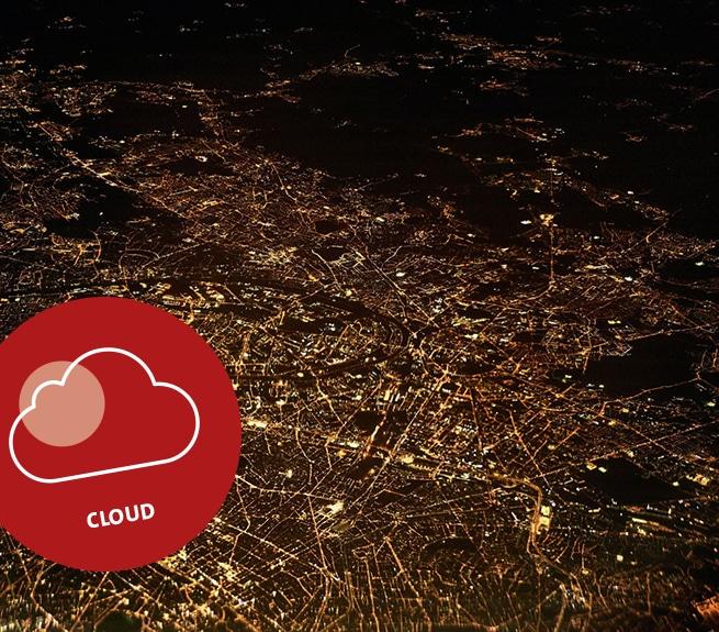 Luftaufnahme einer Stadt