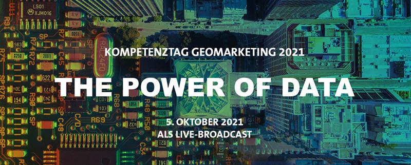 Kompetemztag Geomarketing 2021 The Power of Data